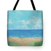Windy Day At Lowdermilk Beach Tote Bag