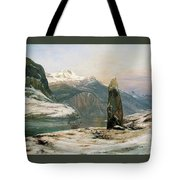 Winter At The Sognefjord - Digital Remastered Edition Tote Bag