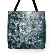 Winter Forest - Aerial Photography Tote Bag