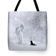Winter Solstice Holiday Card Tote Bag