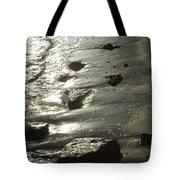 Winter Sun On The Tide Tote Bag