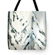 Winter Trees #4 Tote Bag by Maria Langgle