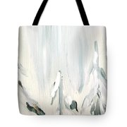 Winter Trees And Sky Tote Bag