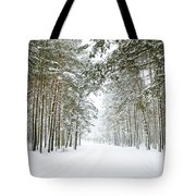 Winter's Tale Iv Tote Bag by Anne Leven
