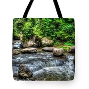 Wolf Creek Falls, New River Gorge, West Virginia Tote Bag