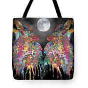 Wolf Song Tote Bag by Mark Taylor