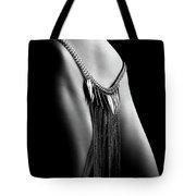 Woman Close-up Chain Panty Tote Bag