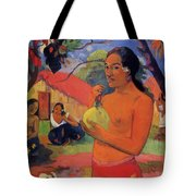 Woman Holding A Fruit 1893 Tote Bag