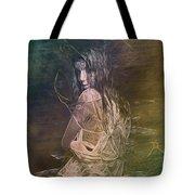 Woman In Distress Tote Bag