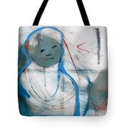 Woman On Her Own Tote Bag