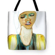 Woman On Trial Tote Bag