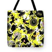Wonderland Design Tote Bag