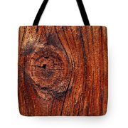 Wood Knot Tote Bag by ISAW Company