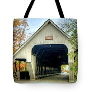 Woodstock Middle Bridge Tote Bag by David Birchall