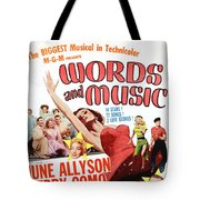 Word And Music 1948 Film Tote Bag