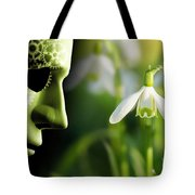 Working In Harmony Wth Nature Concept Tote Bag