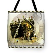 Working Round The Clock Tote Bag