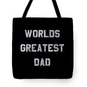Worlds Greatest Dad Vintage Tote Bag
