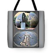 World War 2 Memorial Savannah Tote Bag