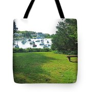 Wychmere Harbor Cape Cod Morning Tote Bag