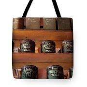 Ye Olde Time Pharmaceuticals Tote Bag