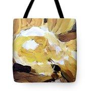 Yellow #4 Tote Bag