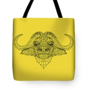 Yellow Buffalo Tote Bag