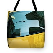 Yellow Cab, Big Apple Tote Bag
