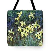 Yellow Irises - Digital Remastered Edition Tote Bag