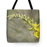Yellow Lupine Tote Bag by Carolyn Marshall