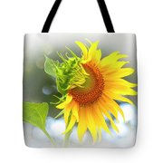 Yellow Petals Of Sunshine Tote Bag by Ola Allen