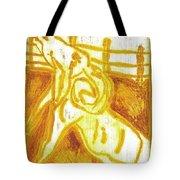 Yellow Ram Tote Bag