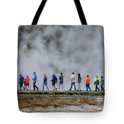 Yellowstone Lineup Tote Bag