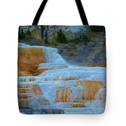 Yellowstone Mineral Deposits Tote Bag