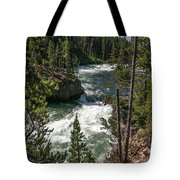 Yellowstone Rapids Tote Bag