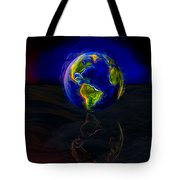 Yesterday, Today And Tomorrow Tote Bag by Paul Wear
