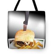 Yopper Burger Tote Bag