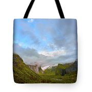 Yosemite On A Good Day Tote Bag