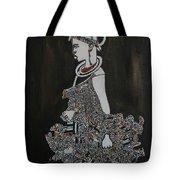 Young Fulani Girl Tote Bag