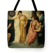Youth Relating Tales  Tote Bag