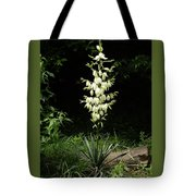 Yucca Blossoms Tote Bag