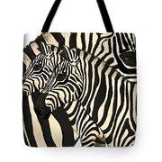 Z Is For Zebras Tote Bag