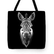 Zebra's Face Tote Bag