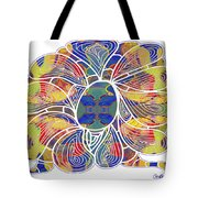 Zen Flower Abstract Meditation Digital Mixed Media Art By Omaste Witkowski Tote Bag by Omaste Witkowski