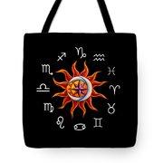 Zodiac Transparent Tote Bag