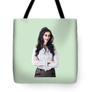 Zombie Businesswoman Tote Bag