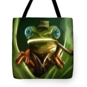 Inspector Frog - Tote Bag Product by Matthias Zegveld