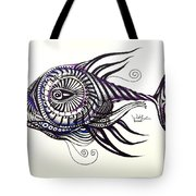 Asynchronous Hate Fish Tote Bag