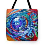 Colorful Comeback Fish Tote Bag