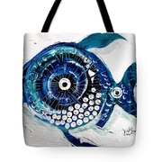 Enter The Icehole Fish Tote Bag